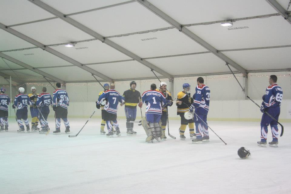 tarandos - albatros hockey match