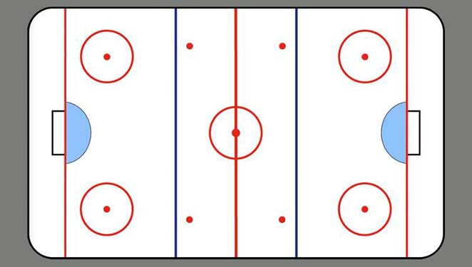 ice hockey rink board