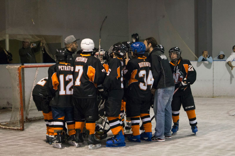 Παιδική ομάδα ice hockey Athens Warriors Juniors